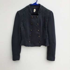 FP We The Free Victorian Lace Cropped Jacket 4